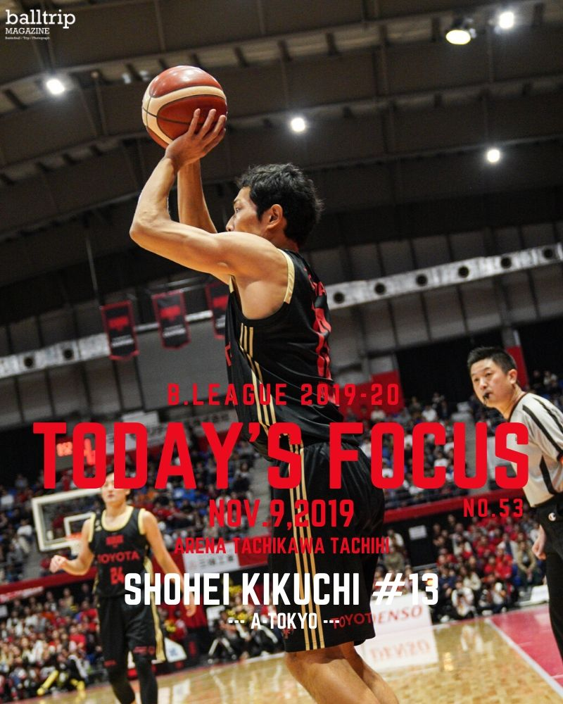 [balltrip]TODAY'S FOCUS_菊地祥平_A東京